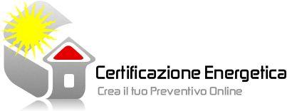 Preventivo certificazione energetica